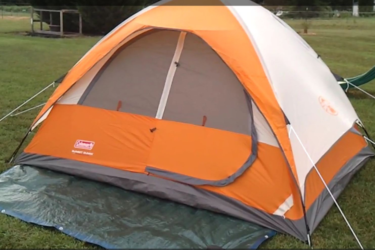 Coleman Sunset Dunes 4 Person Tent Review | Outdoor Adventures and
