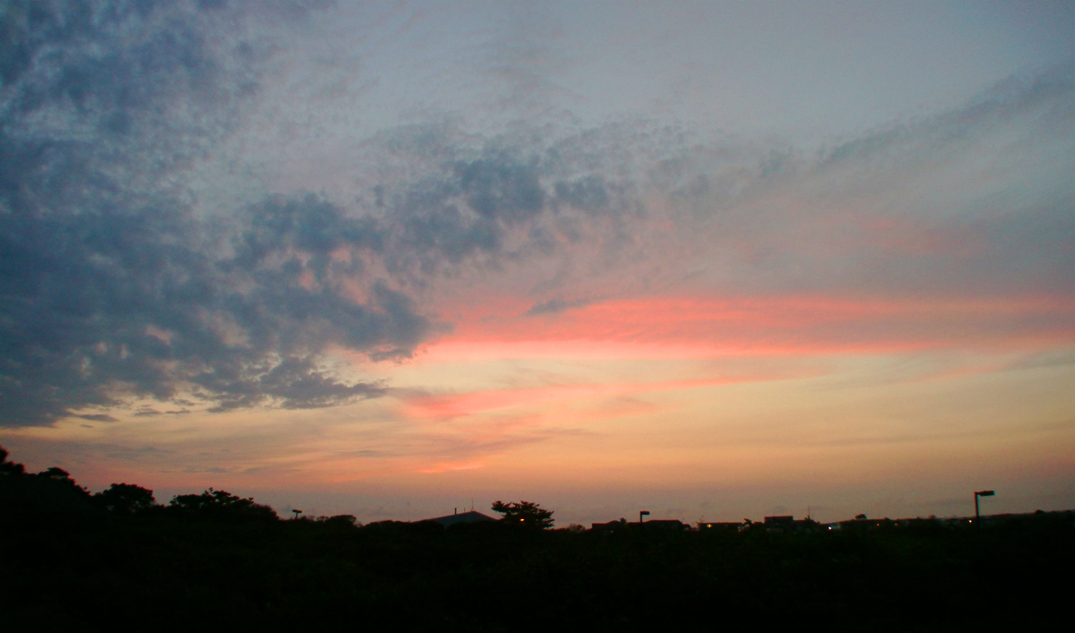 Fire Island Fire Sky