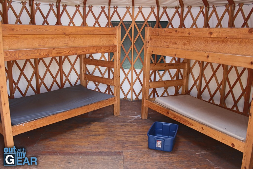 Allaire State Park Campgrounds Yurts