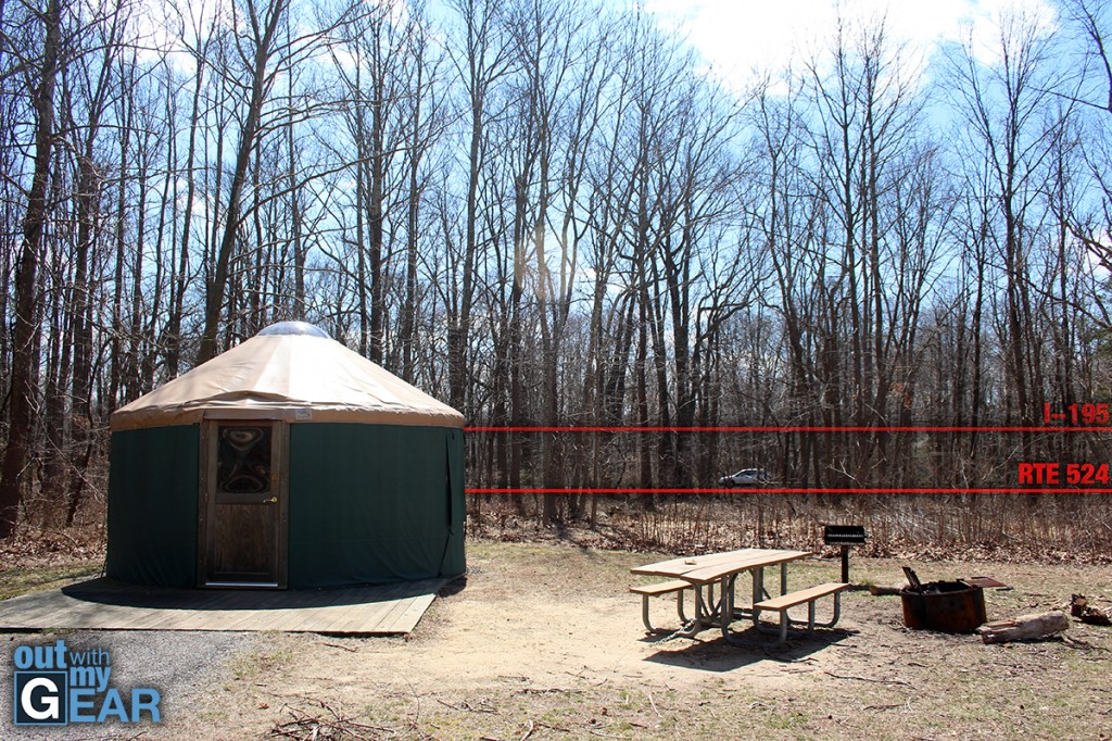 Allaire State Park Campgrounds Road & Highway